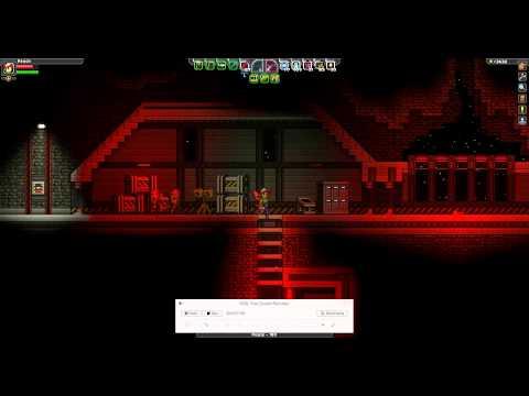 Starbound: Erchius Mining Facility