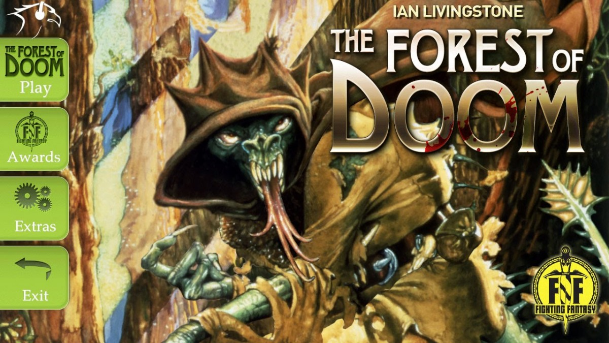 Fighting Fantasy: The Forest of Doom Review