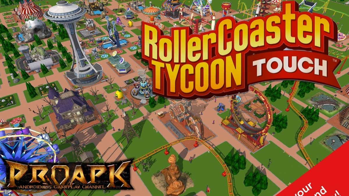 Atari Mobile Lineup Includes Roller Coaster Tycoon and More